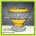 antiguo mesa de cerámica florero grandes jarrones de cerámica