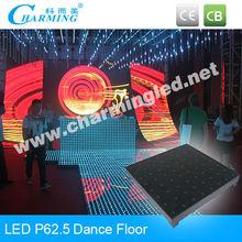 Piso de danza del espejo de la etapa del LED