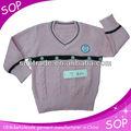de color rosa 2013 suéter de lana de diseño para las niñas y del fabricante de china