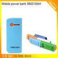 buena calidad portátil fuente 5600 mah para teléfono de carga de ipod