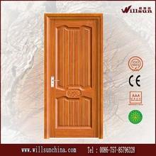 Modernos diversos estilos sencilla puerta de madera sala de diseño