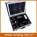 portátil mini dynamo solar generador de energía para la venta