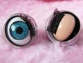 De plástico 10-20mm abrir y cerrar los ojos de muñeca