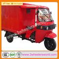 Chnia kingway nuevo diseño 150cc/200cc motorizado chino barato trike chopper truck motor del limpiaparabrisas para la venta