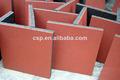 Qingdao csp eco- ambiente material gimnasio& zona juegos de goma roja azulejos