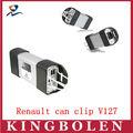 2013 nuevo multi-idioma Renault can clip v127