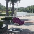 mimbre silla colgante al aire libre