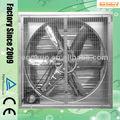 de alta calidad de gran soplador de viento de la industria tasa de chapa galvanizada extractor de aire de aves de corral