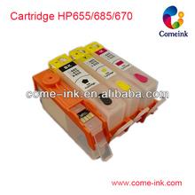 de alta calidad de tinta 670 cartuchos para hp deskjet 3525 4615 4625 5525 6525 impresoras