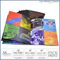 venta al por mayor de encargo del diseño del folleto libro de impresión de impresión del catálogo