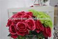 Direto da fábrica de flores artificiais, flor de plástico, decoração do casamento