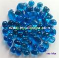 productos de vidrio de cristal de la pared decoración de perlas de color sólido cuentas redondas de cristal