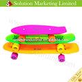 Baratos 27 polegadas paradoxo de skate de plástico vermelho/azul/verde/amarelo