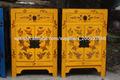 Muebles antiguos chinos mesilla de noche con pintura