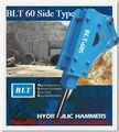 Suministro BLT60 tipo lado Martillo hidráulico adecuado para 11 a 16 tMartillo hidráulico adecuado para 11 a 16 toneladas