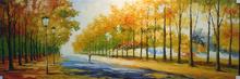 paisaje hermoso pintura al óleo