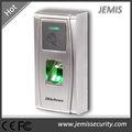 Carcasa de metal, tarjeta RFID, puerta biométrica de huellas digitales de la máquina de control de acceso