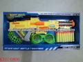 shantou farah juguetes blandos aire de la pistola de bala suave pistola de juguete juego de disparos de arma EVA suave