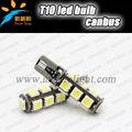 Canbus error libre t10 13 5050 smd luz indicador de auto del coche bombilla led/cuña bombilla de la lámpara