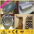 tubos de aluminio,perfil de aluminio industrial para la fábrica de China del disipador de calor,disipador de calor de aluminio