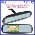 Espejo Retrovisor Bluetooth GPS DVR
