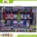 Pulgadas 9.5 kongshen monstruo macho de alta escuela negro muñeca de moda