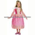 niños rosado de lujo belle vestuario