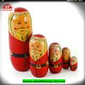 en71 vinil personalizado presente de natal boneca russa para crianças