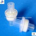 respiración de filtro HME bacteriana