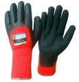 térmica guantes de espuma de látex recubiertas guantes de invierno