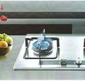 La estufa de gas/cocina