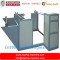 Máquina para distribuição do material na linha de produção de plastico bolha