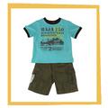 2014 verano fresco de dibujos animados bebé niños ropa t shirts y diseño de conjuntos de pantalones