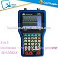 últimos 3 en 1 osciloscopio de mano + generador de señal + multímetro 30 mhz 250msa/s jds3012a jh