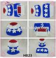 H823 neonatal chapéu + fralda de dois conjuntos de linda handmade crochet roupas