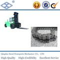 LL0866 6 * 6 Industria de alta resistencia de acero estándar de carretilla elevadora arrastrando cadena de la hoja