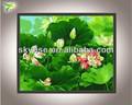 moderno abstracto de flores pintura al óleo decorativa