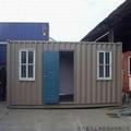 ISO casa contenedor con dos ventana