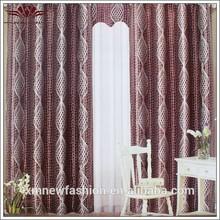 Moda cortina de oscurecimiento, europa de la puerta de la cortina, nuevo estilo de la cortina de lujo