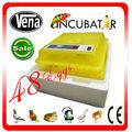 2014 Top 48 vendendo ovos de mini incubadora de ovos de galinha para a venda com CE aprovado máquina de banho-maria
