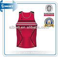 Subbs- 296 de baloncesto jersey rojo de diseño de ropa deportiva