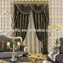 wholeslae precio barato el pasado de moda de terciopelo personalizados diseño de cortina de precio y de calidad garantizada