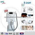 Novedades 2014 E-luz IPL + RF de la máquina del cuidado de piel del retiro del pelo para uso doméstico.