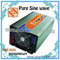 3000w de potencia convertidores eléctricos para la casa