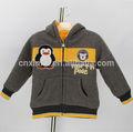lindo animal deimpresión deinvierno de la marca del diseñador de moda boutique 2014 baby baby boy ropa deinvierno