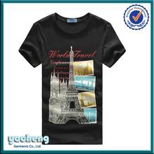 camiseta barata de los hombres / camiseta por mayor de China