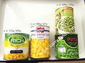 comida enlatada con maíz guisantes enlatados y en conserva en salmuera conservas vegetales de buen gusto bajo precio de los alim