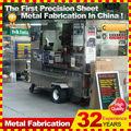 personalizados feitos de metal de rua trailer móvel carrinho de cachorro quente para a venda
