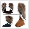 Caliente Moda botas para la nieve
