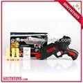 nuevo producto barato y seguro de plástico suave de aire de la pistola de agua y la pistola de bala juguetes